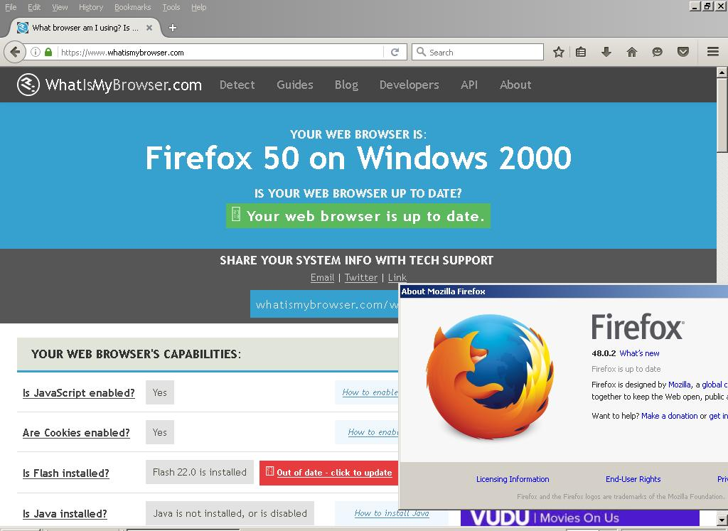 Mozilla Firefox For Vista