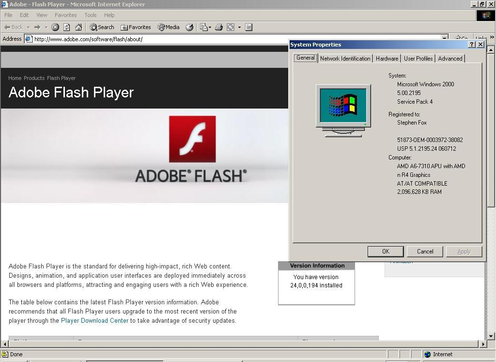 Newest Adobe Flash and Shockwave, and Java, too! - Page 9