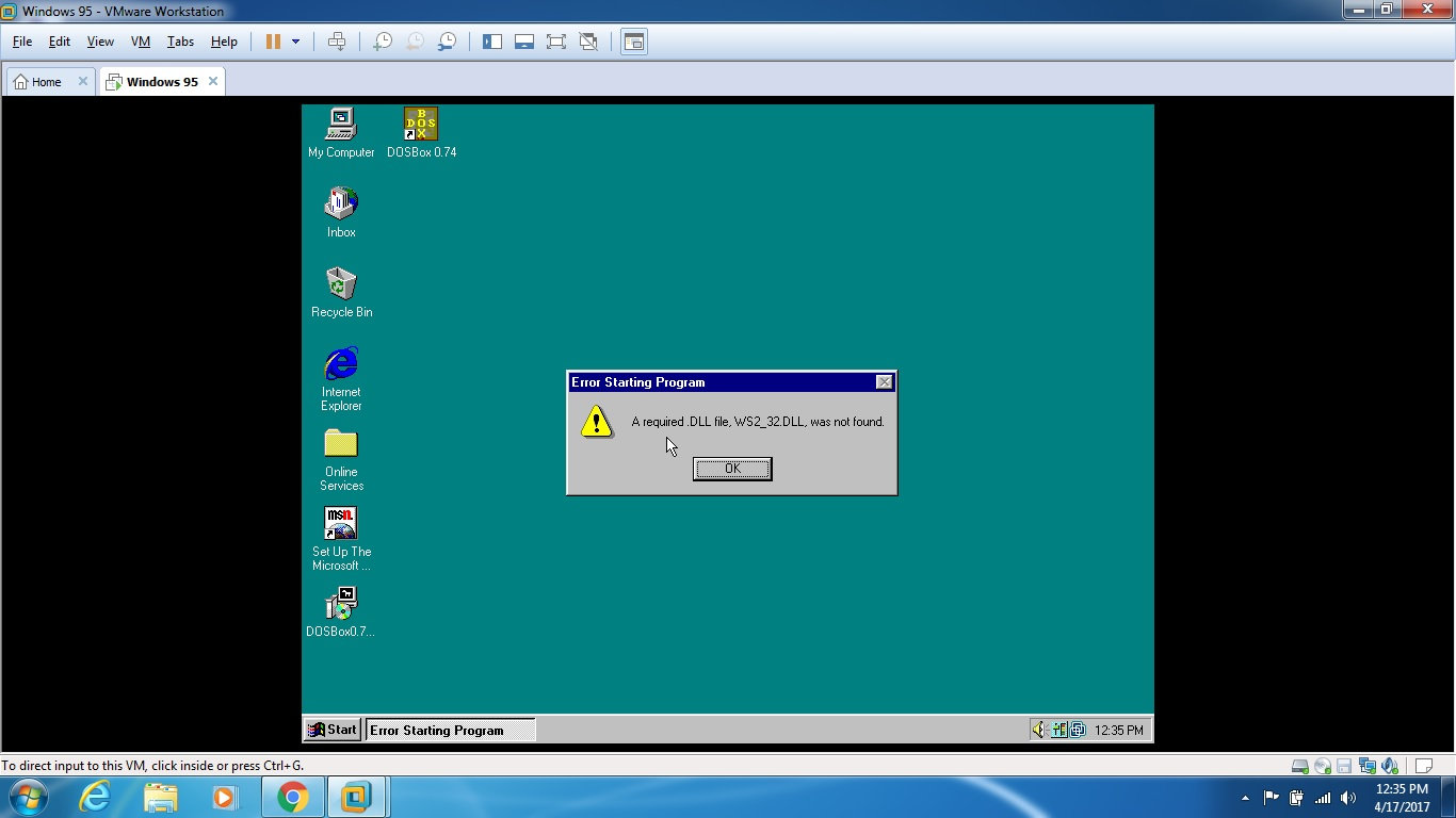 windows 98 in dosbox