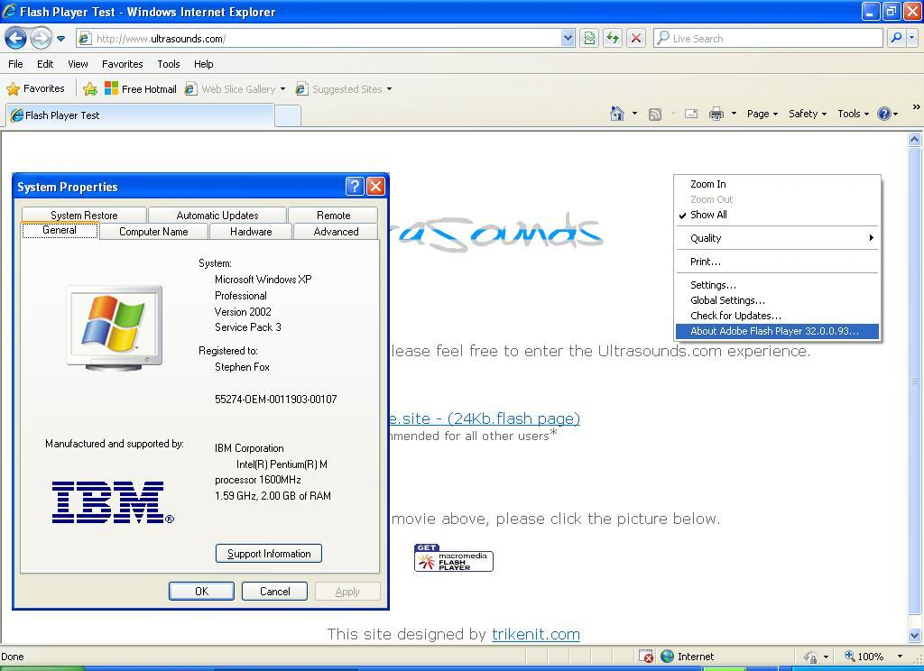 free flash player download for windows xp