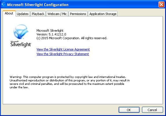 скачать silverlight для windows xp